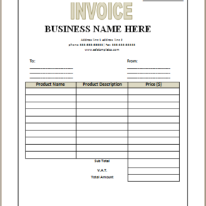 Purchase Receipt Template from www.excelwordtemplate.com